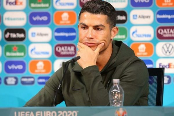 Euro 2020: Warning of Fines for Teams whose Players Keep Sponsor Drinks Away During a Press Conference