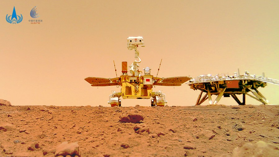 China's rover Zhurong travels over 1 km on Mars