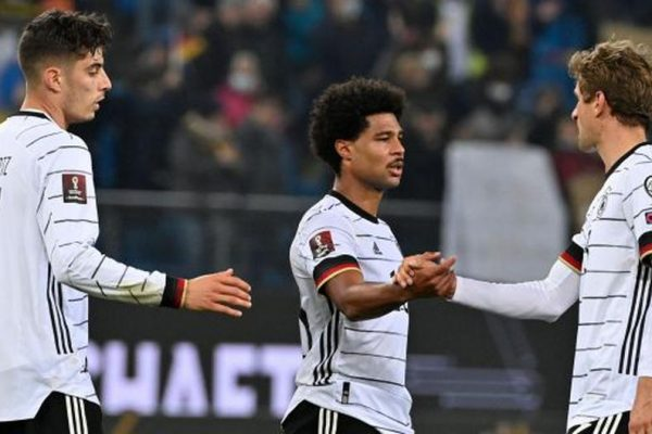 Germany stretched its lead and qualifies for 2022 World Cup