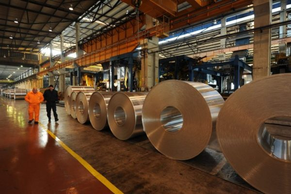 Aluminum jumps to its highest level since 2008