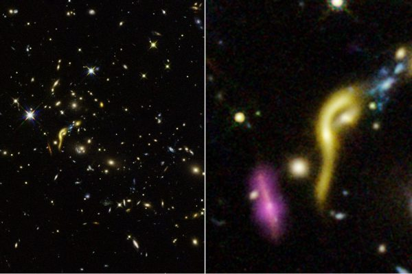 Hubble Finds Early, Massive Galaxies Running on Empty